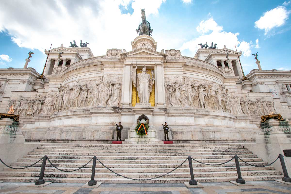 3 days in rome itinerary-vittoriano
