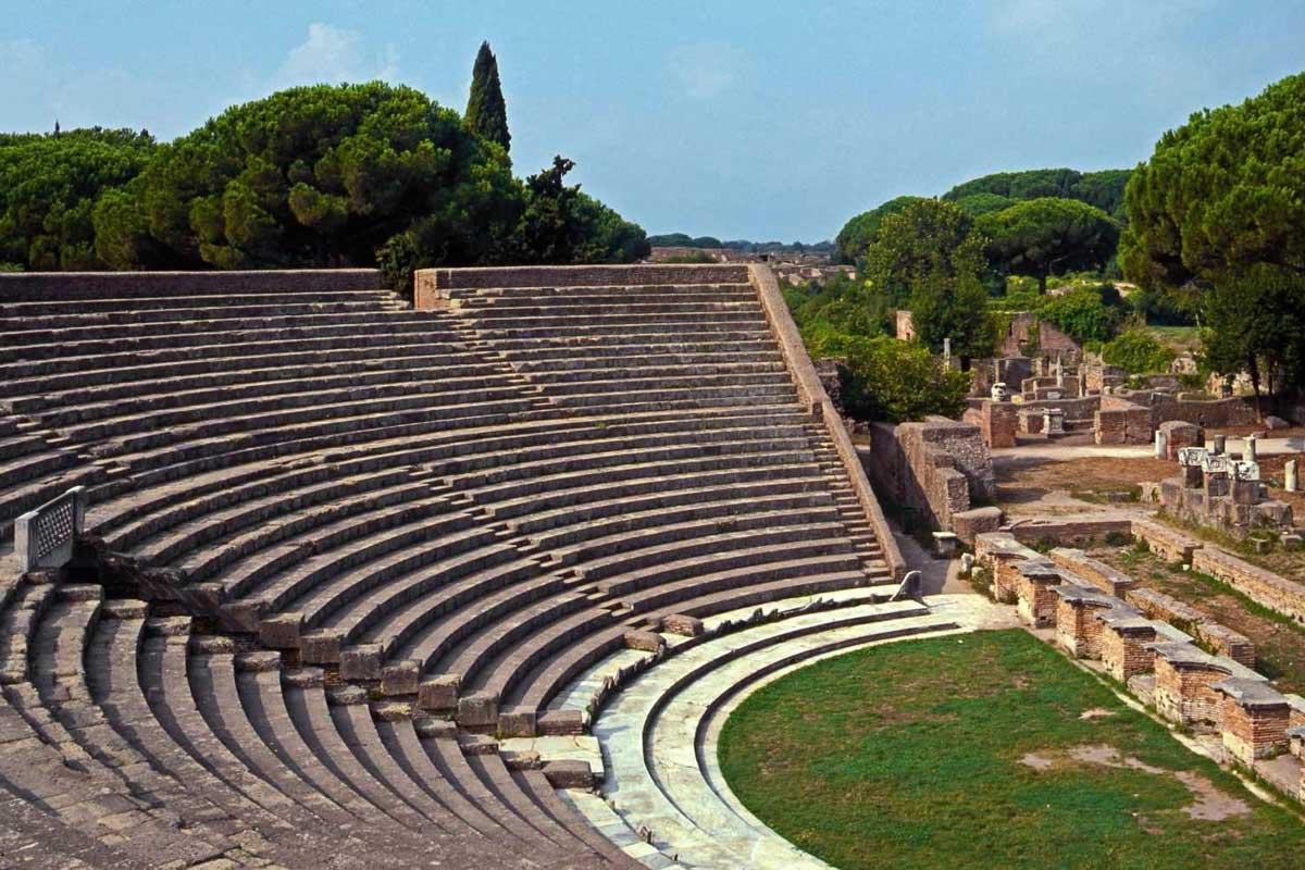 Ostia theatre near Rome