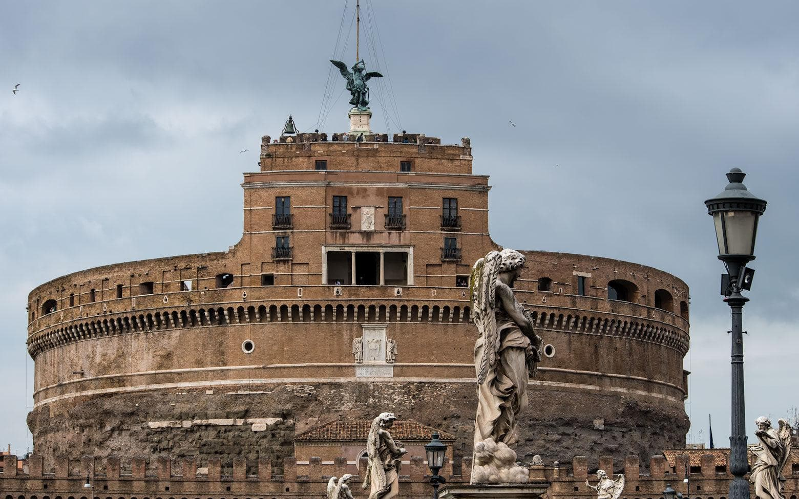 3 days in Rome itinerary day 3 - Castel Sant Angelo