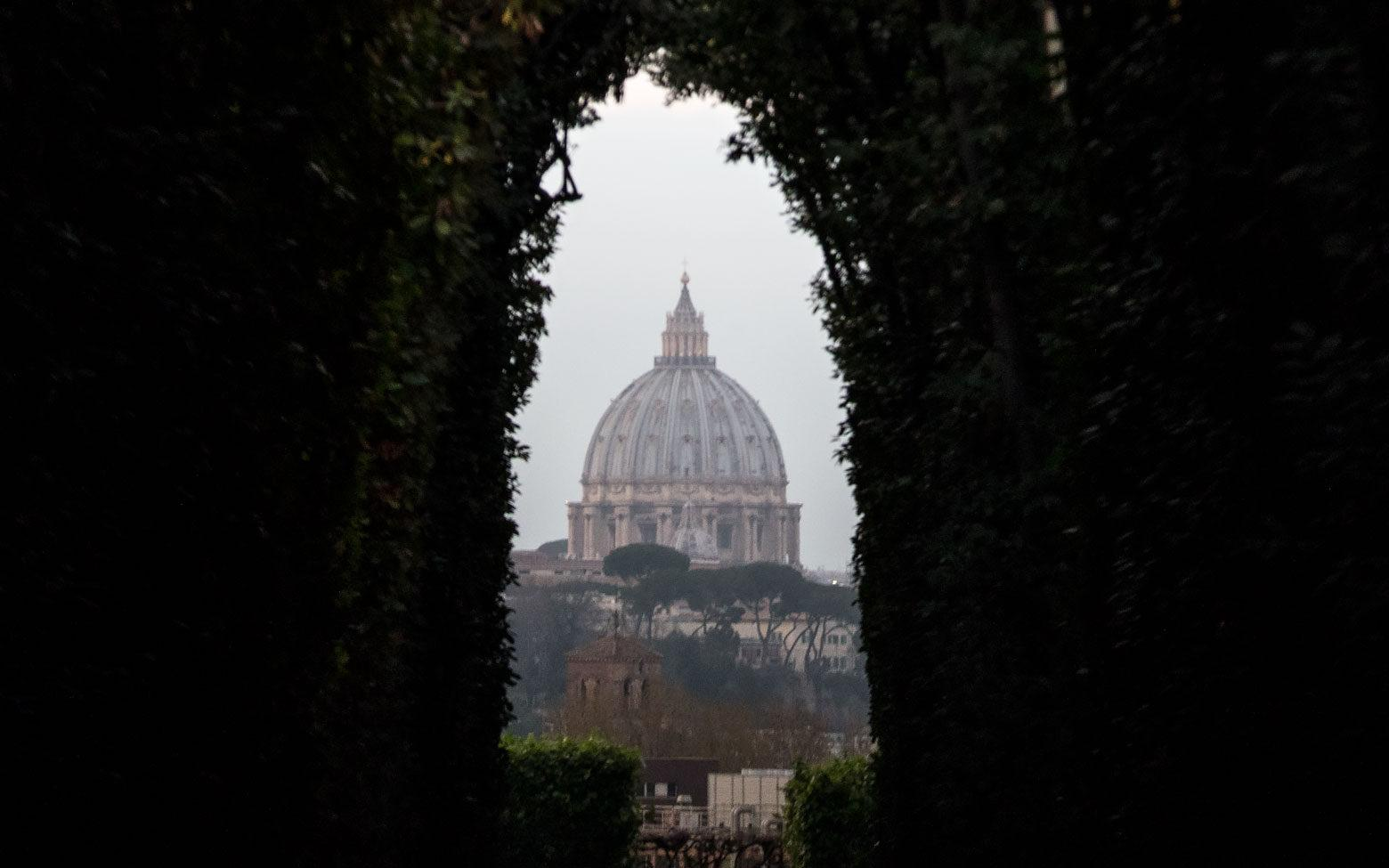 3 days in Rome itinerary day 2 - The Aventine keyhole