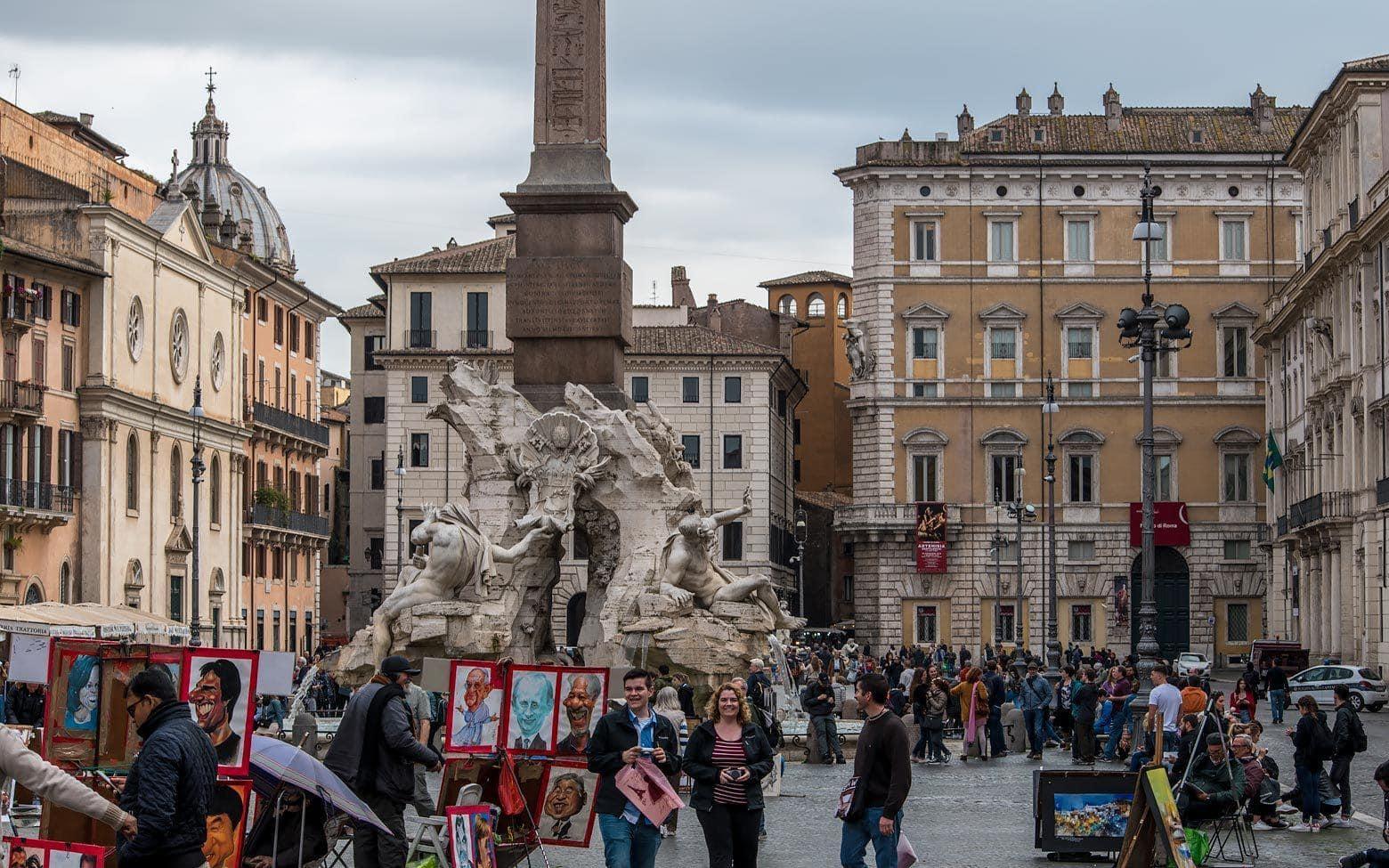 3 days in rome - piaza navona