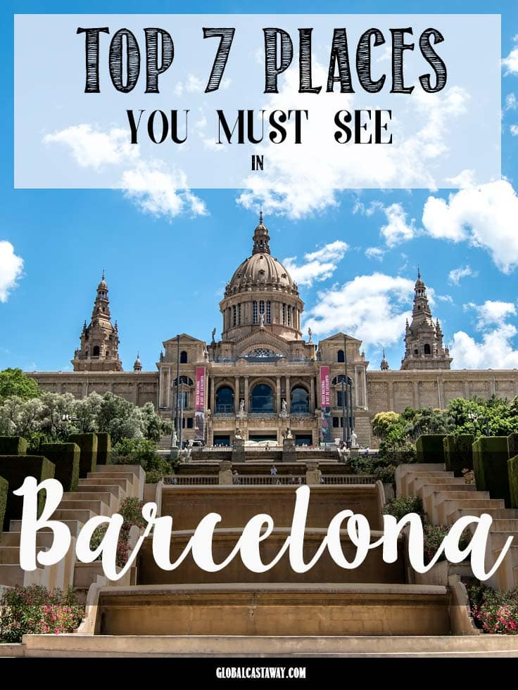 Barcelona is a great city visited by vast amounts of tourist every year. Check out the 7 absolute best highlights of the city you shouldn't miss
