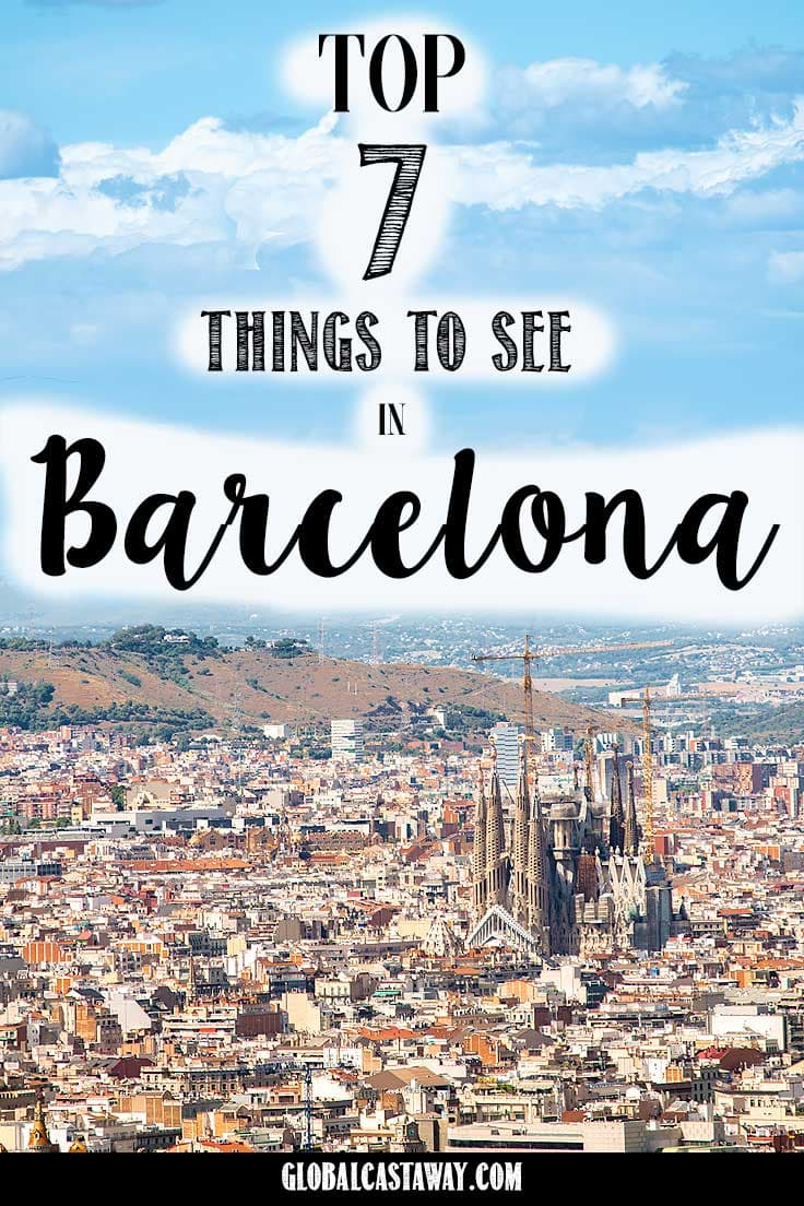 the absolute best things you should see when you travel in Barcelona, Spain