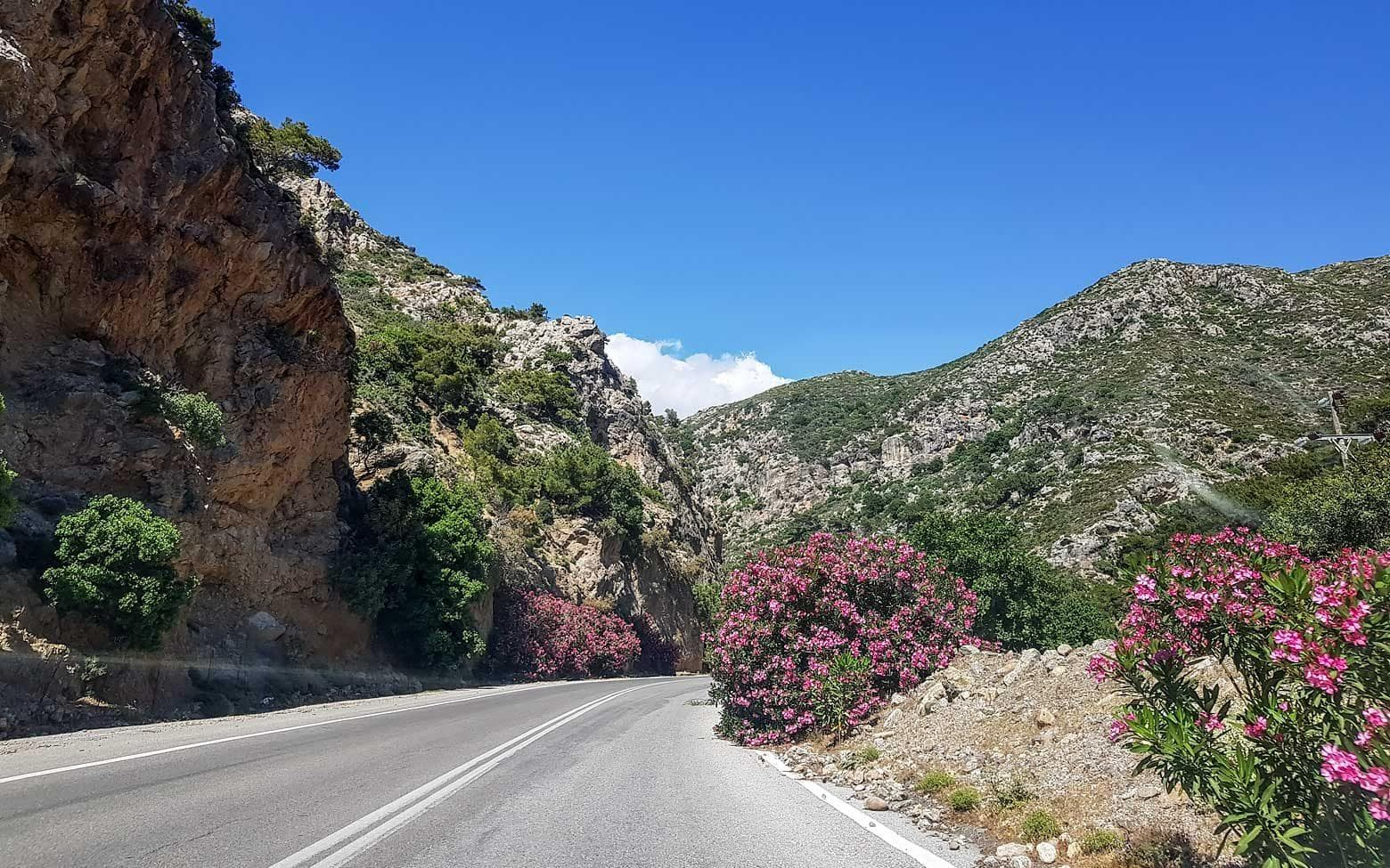 Photo of Crete - colorful roads