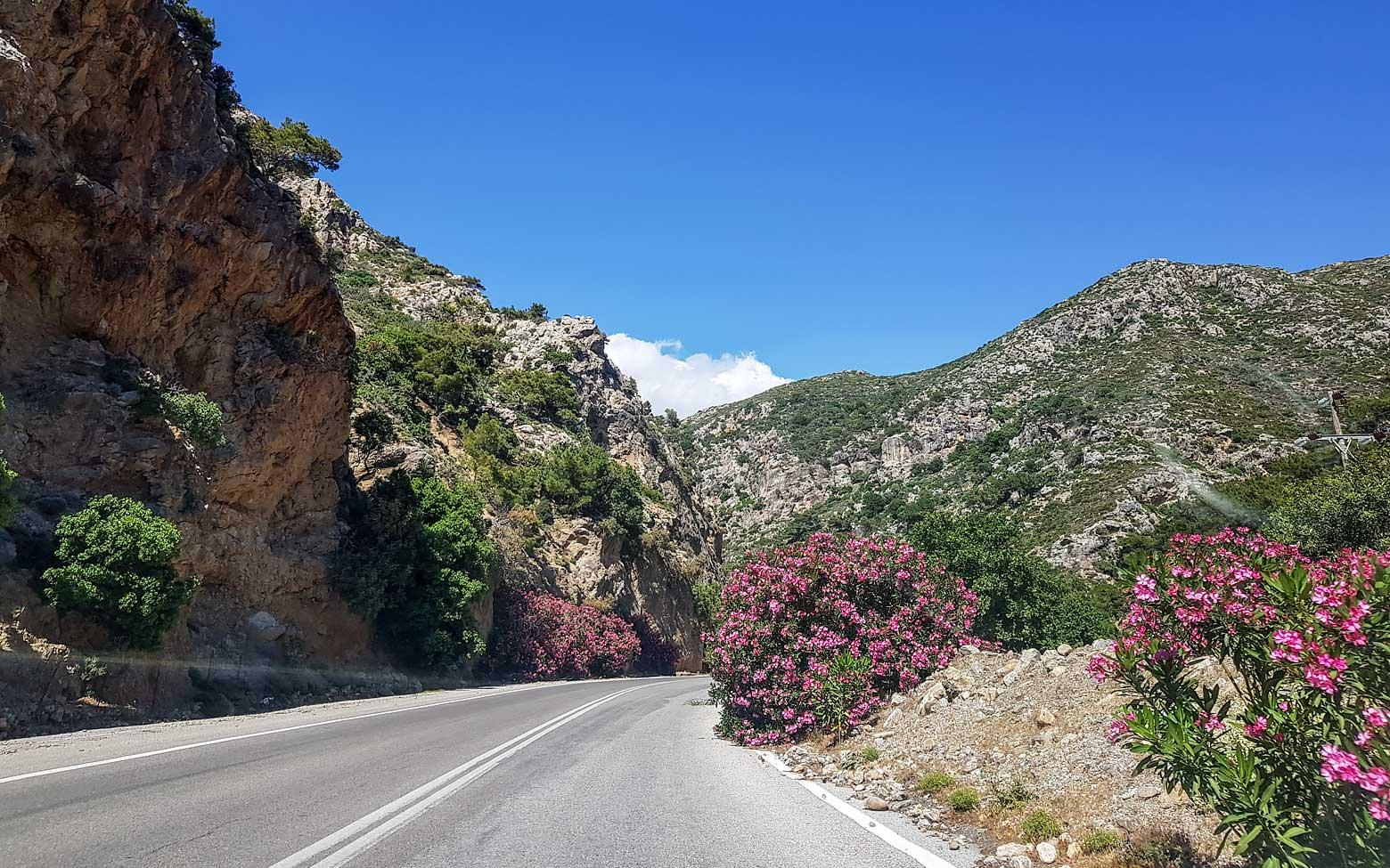 Photo of Crete - colorful roads