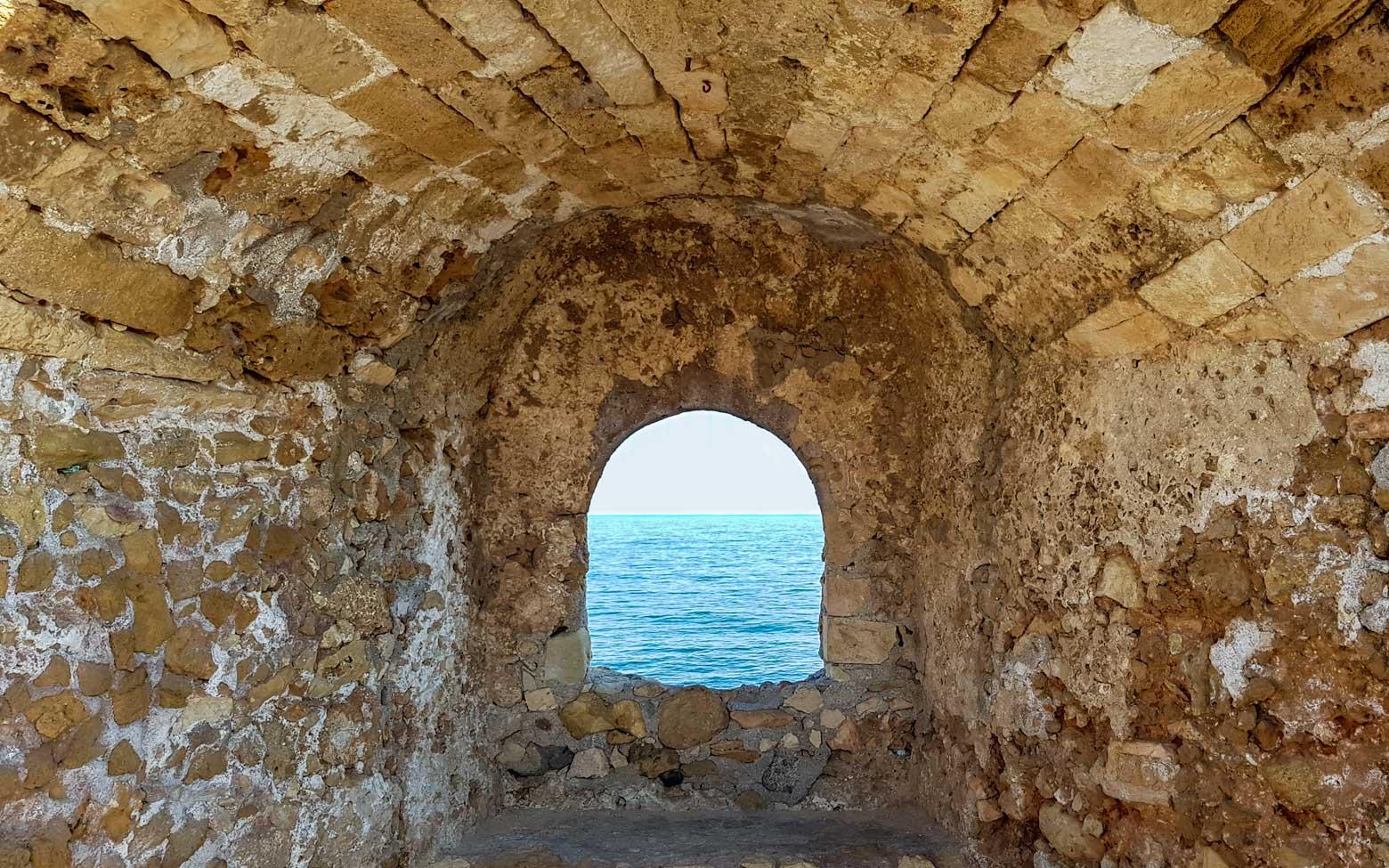 Crete Photo - window in the wall