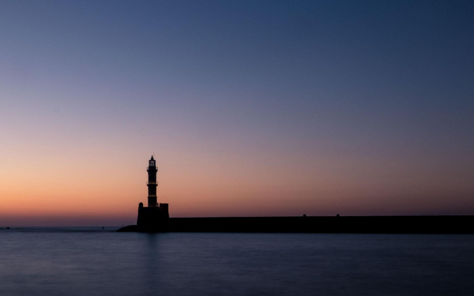 Crete Photo - Lighthouse of Chania