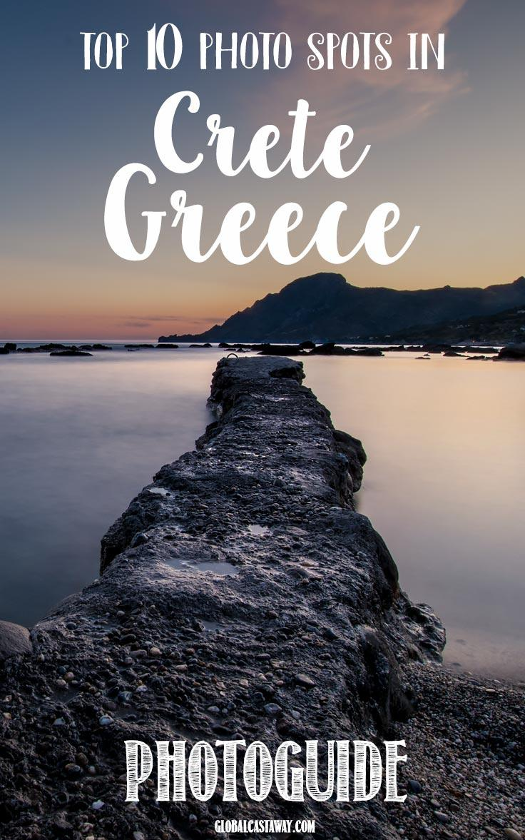 photo guide of crete greece. top 10 best photo spots | Chania | Elafonissi | Balos | Skinaria | Preveli | Plakias | Knossos #crete #creteguide #greece #travelcrete #travelgreece