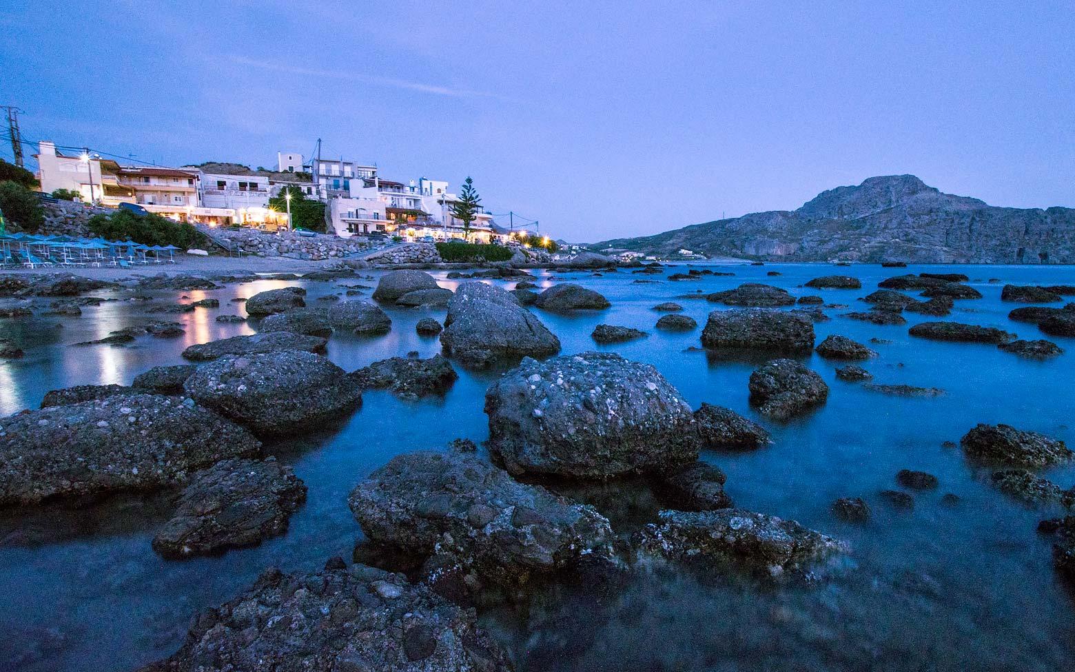 photo crete - the village of Plakias