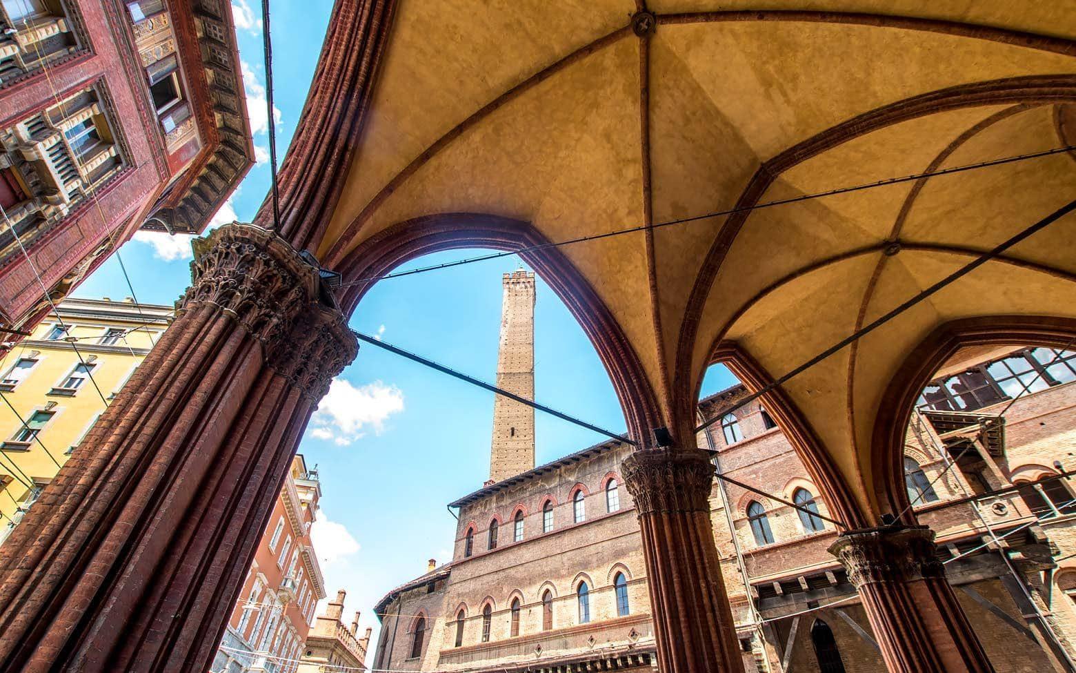 Arcs in Bologna,Italy