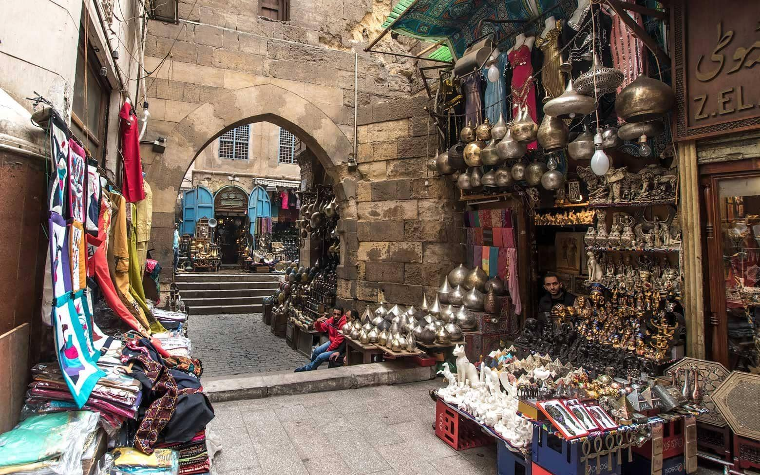 things to see in cairo - Grand bazaar