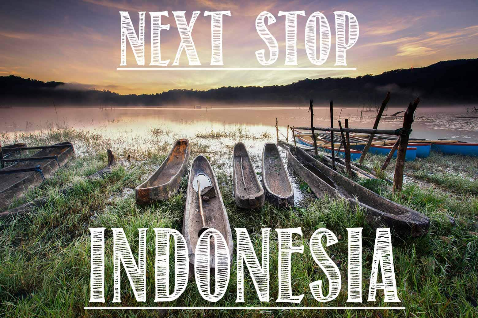 indonesia picture with a text