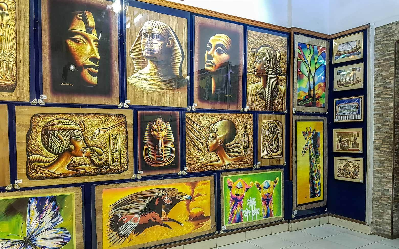 papyrus gallery in cairo egypt