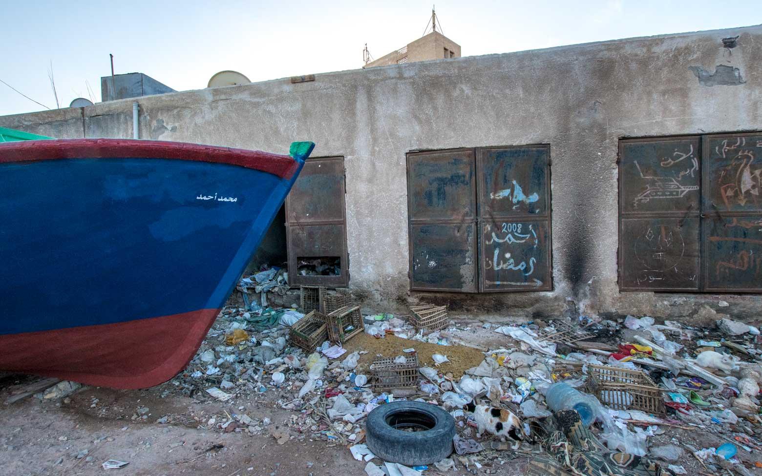 trash in cairo