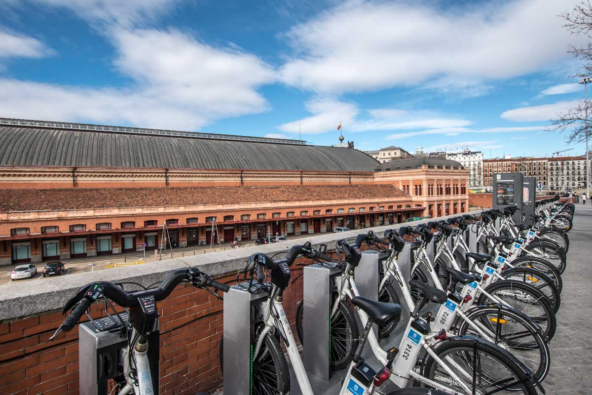 electric bikes are perfect transportation around madrid