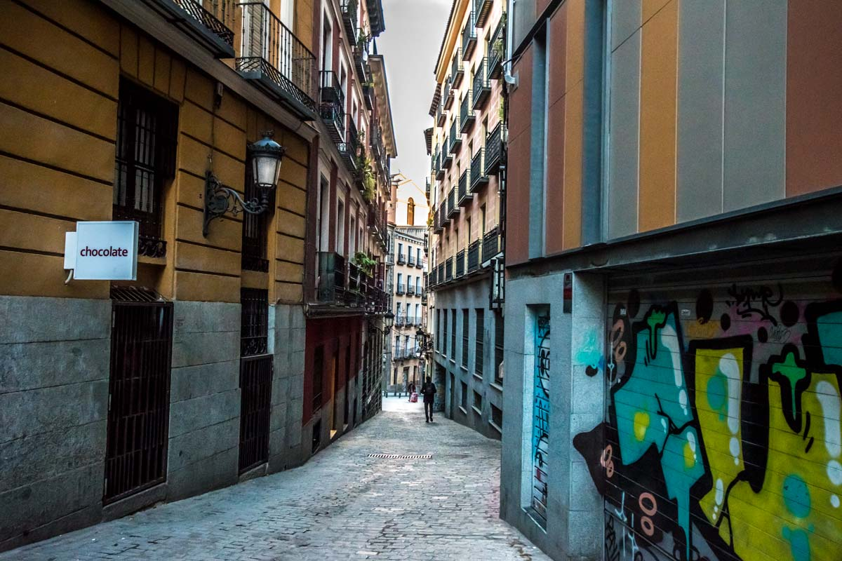 best place to stay in your two days in madrid is the malasana area