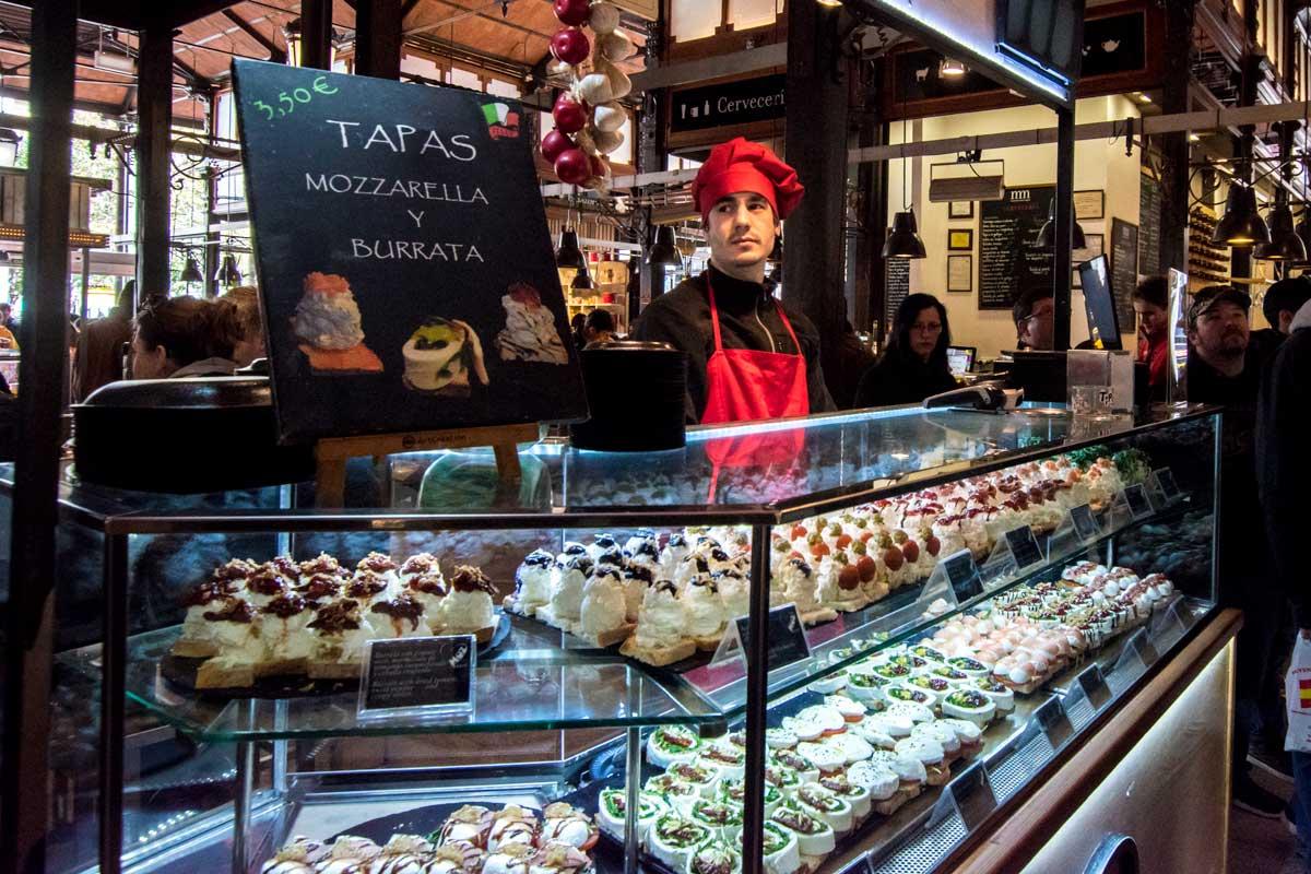 2 days in Madrid - overpirced mercado-san-miguel