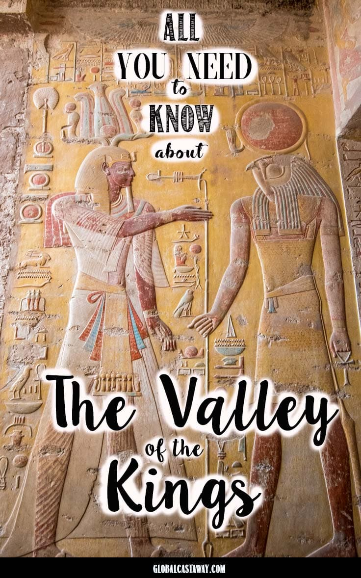All the essential information about the Valley of the Kings. Prices, location and pro tips #travelluxor #egypt #valleyofthekings