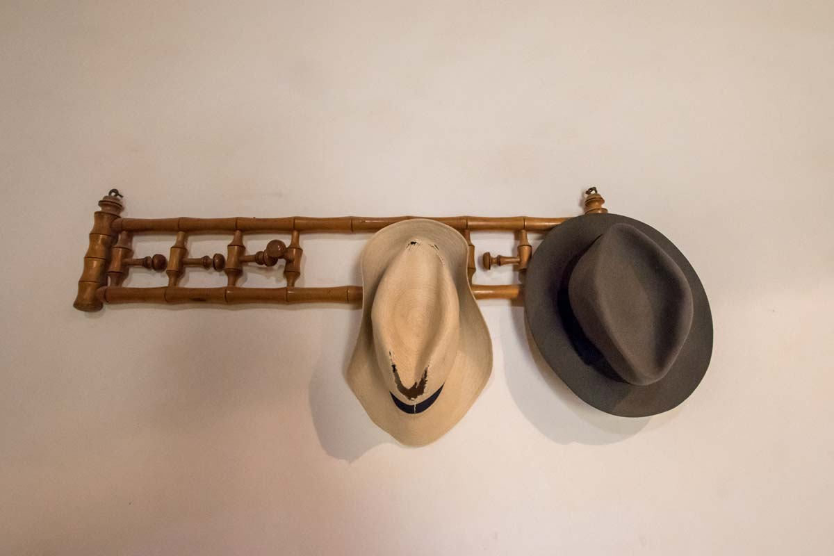 Howard Cater's hats