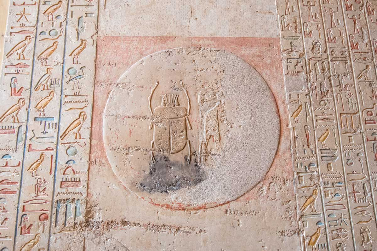 Valley of the Kings Scarab decoration
