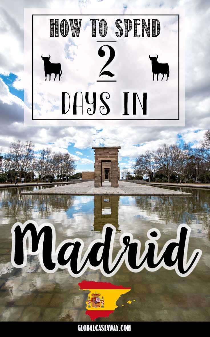 2 days in Madrid pin