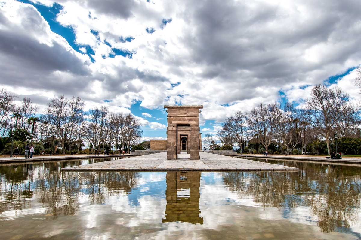 best things to do in madrid - the debod temple
