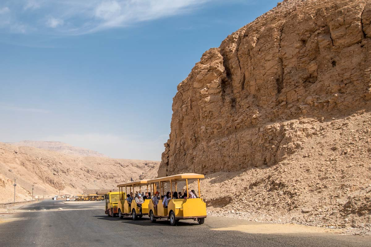 Valley of the kings train