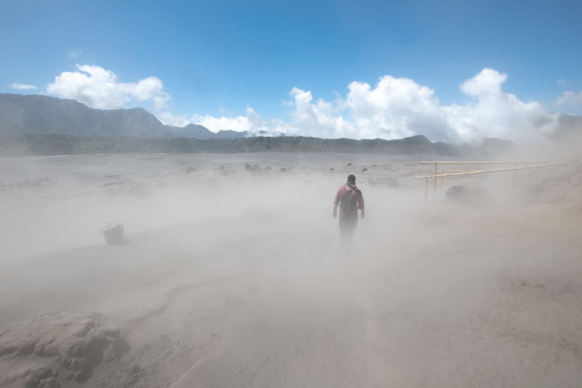 mount bromo weather