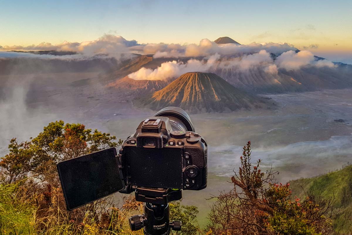 mount bromo for free - viewpoints