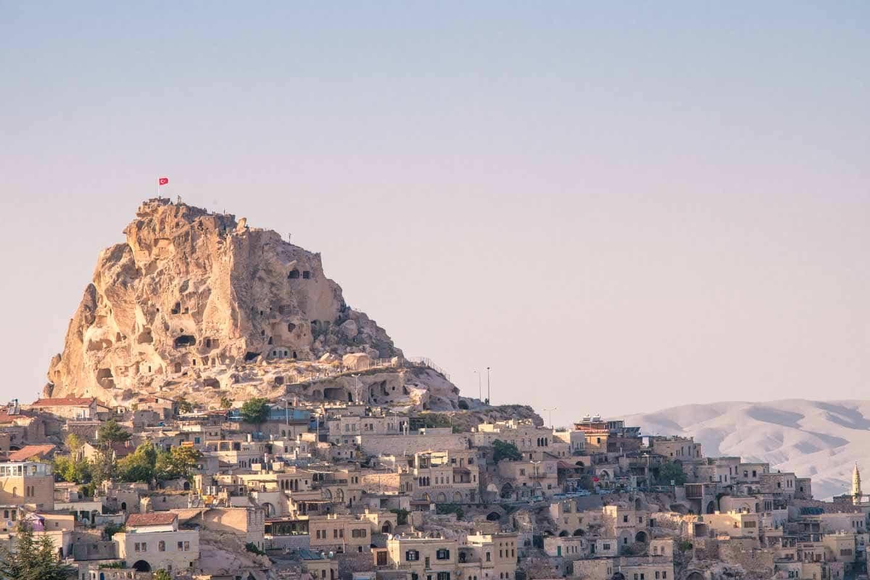 Uchisar-castle-cappadocia-red-tour