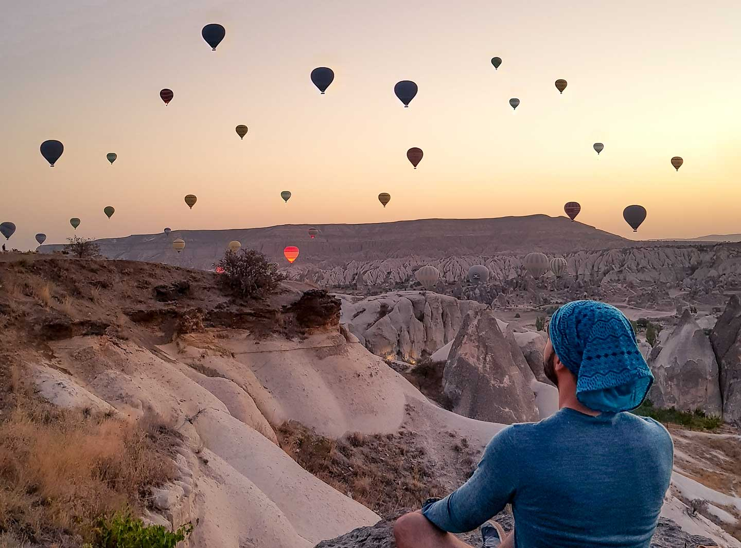 cappadocia hot air balllons morning