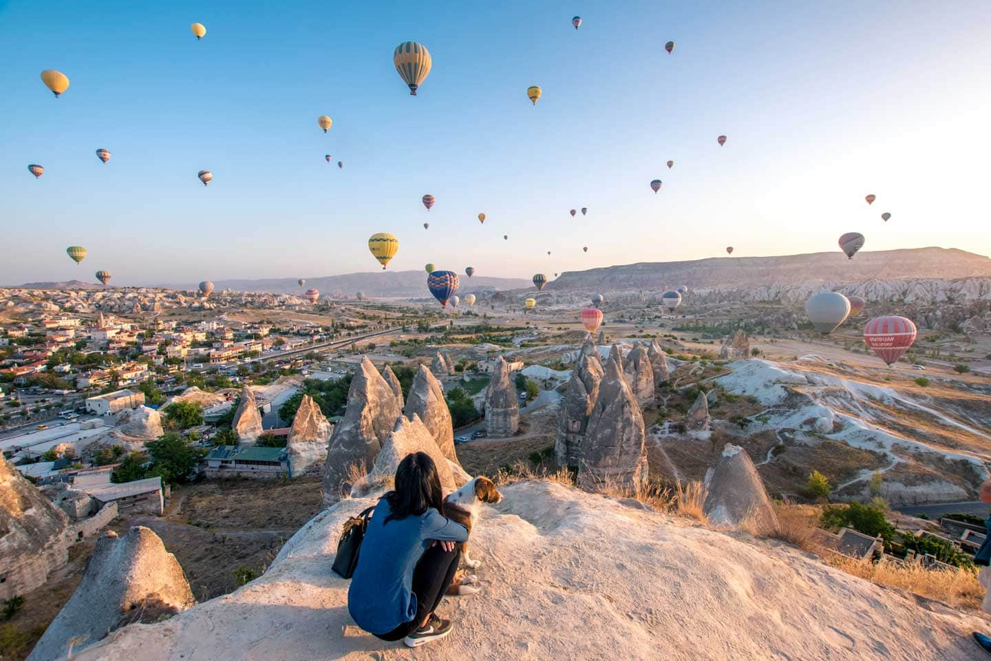 cappadocia hot air balloon watching