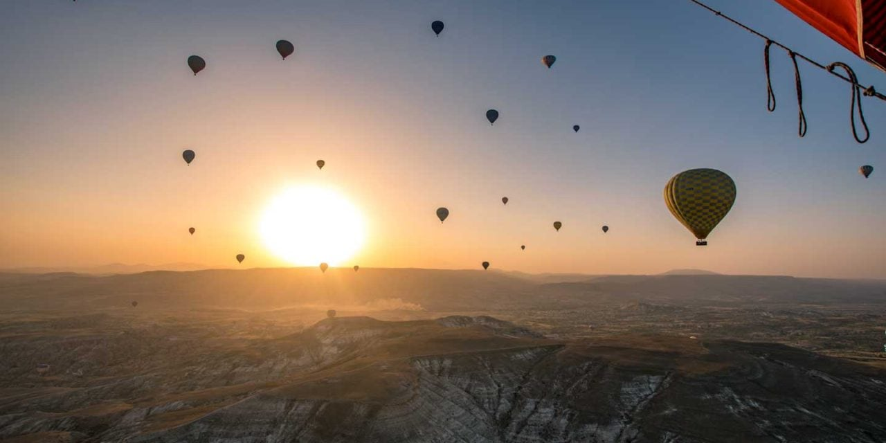 Bucket List Certified – Cappadocia Hot Air Balloon flight