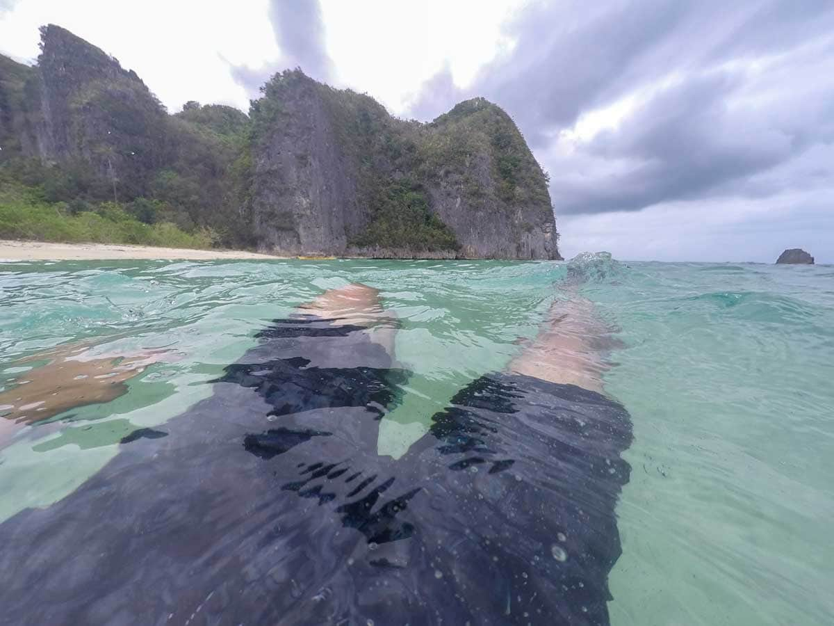 tayak beach - caramoan, philippines