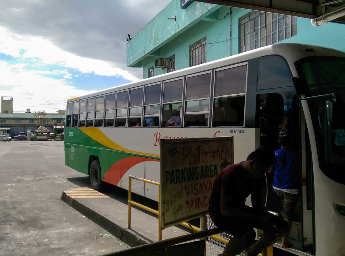 naga bus to caramoan