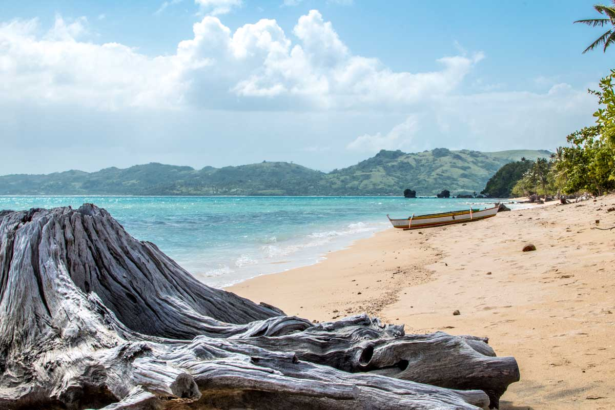 second island in caramoan