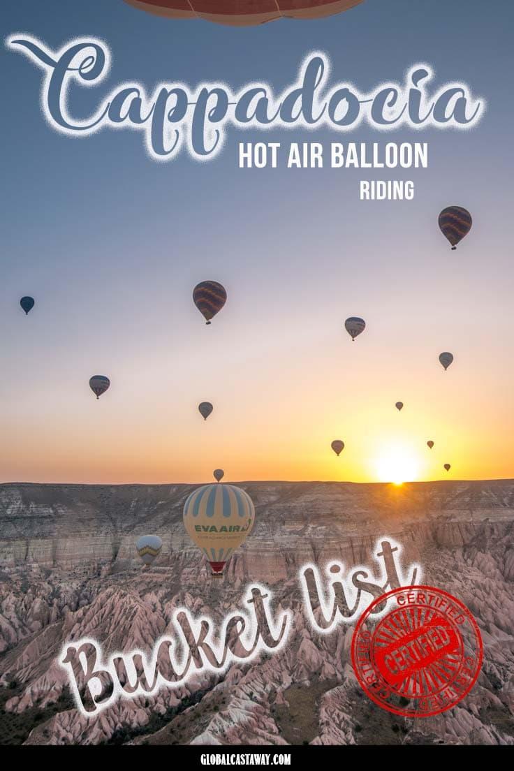 See why cappadocia hot air balloon flight should be on top of your bucket list #cappadocia #cappadociaturkey#cappadociaballoon #cappadociaphotography #cappadociaturkeyhotairballoon #cappadociatravel #cappadocialandscape