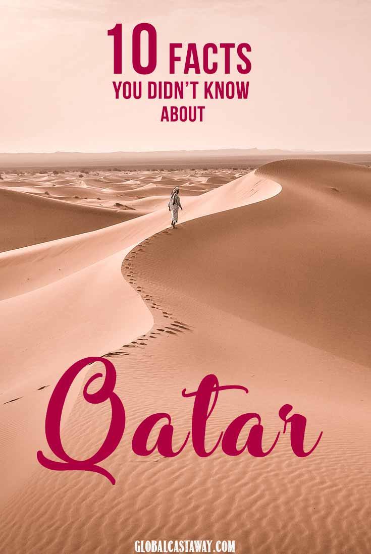 Qatar facts pin