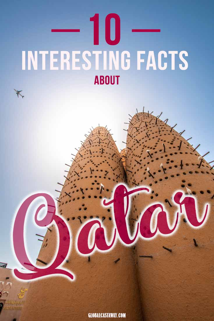Facts about Qatar pin