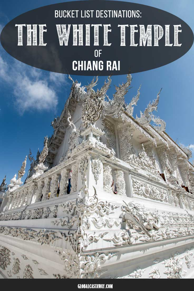 All you need to know for your travel to The White Temple of Chiang rai, Thailand. Enjoy your visit to Wat Rong Khun without the crowds,see why it's all white, and find out why the white temple is probably the most unique temple not only in Chiang Rai or Thailand, but in the whole world #whitetemple #whitetemplechiangrai #whitetempletravel #whitetemplethailand #whitetemplepost #watrongkhun #watrongkhunthailand #watrongkhuntemple #buddhisttemple
