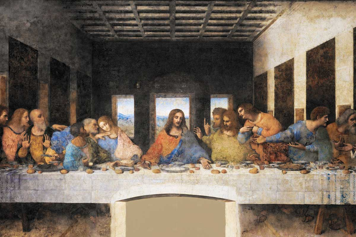 TOP Unesco sites in Italy- picture of Da Vinci's Last Supper