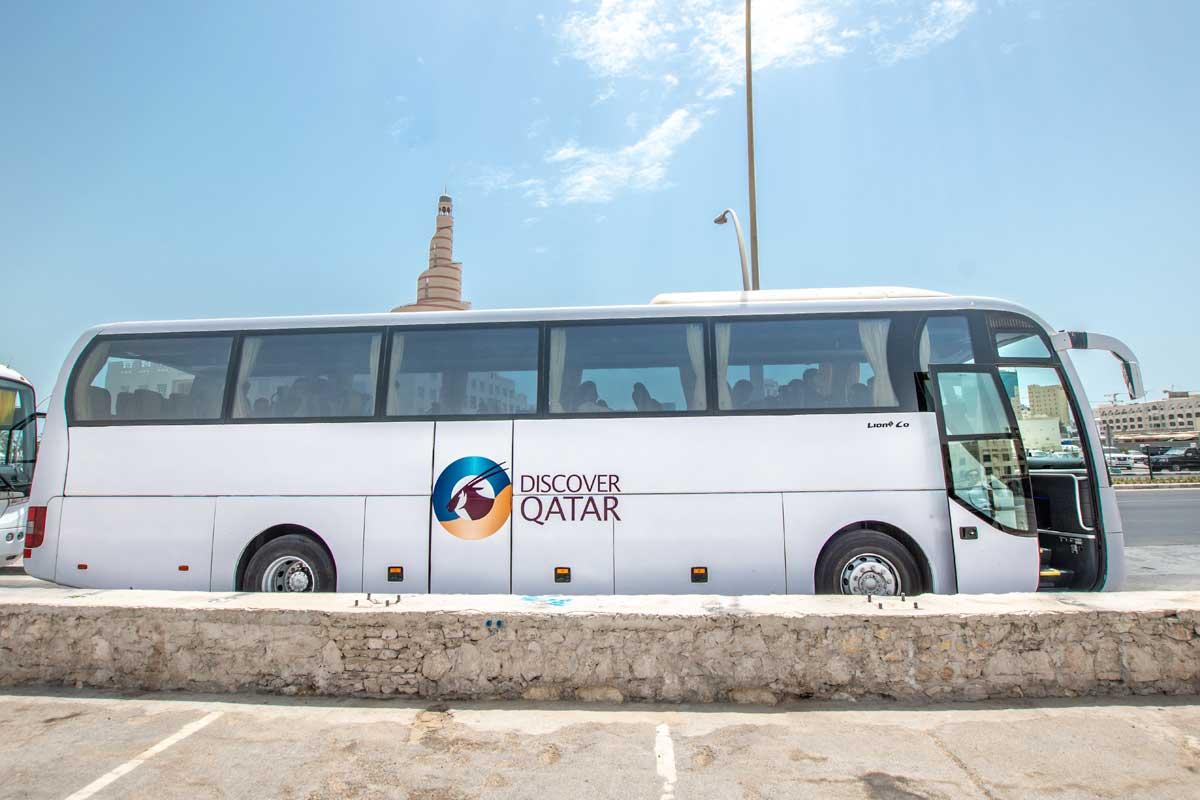 discover qatar bus