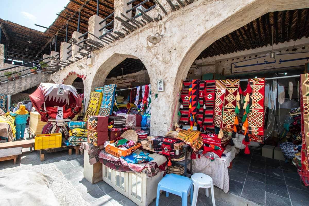 doha layover - souq waqif market