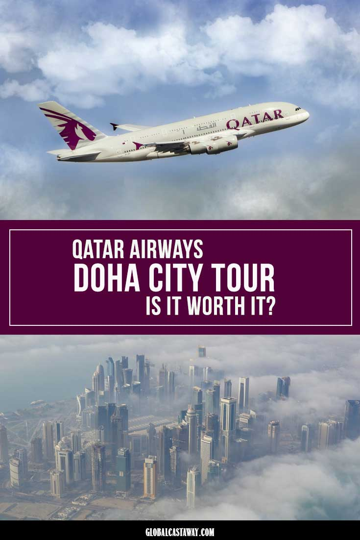 qatar airways doha city tour pin