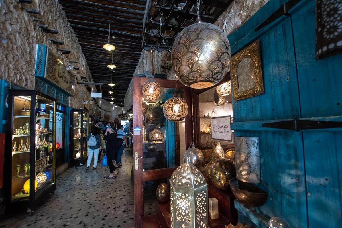 doha city tour - market