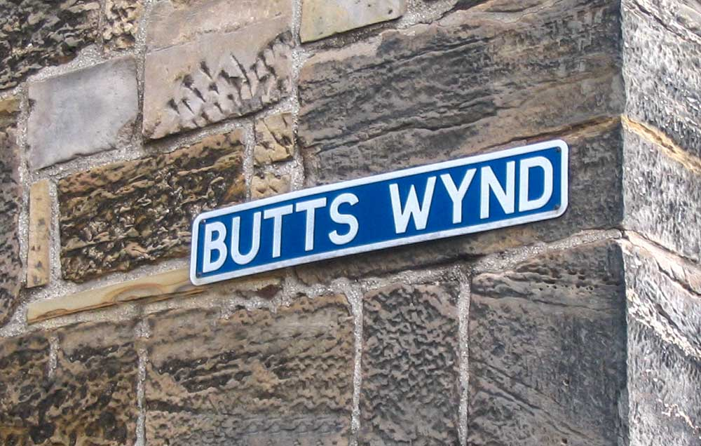 curious london fact - there were pretty funny street names