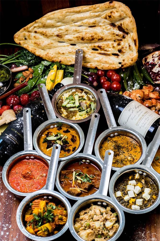 indian-dishes-on-a-wooden-table