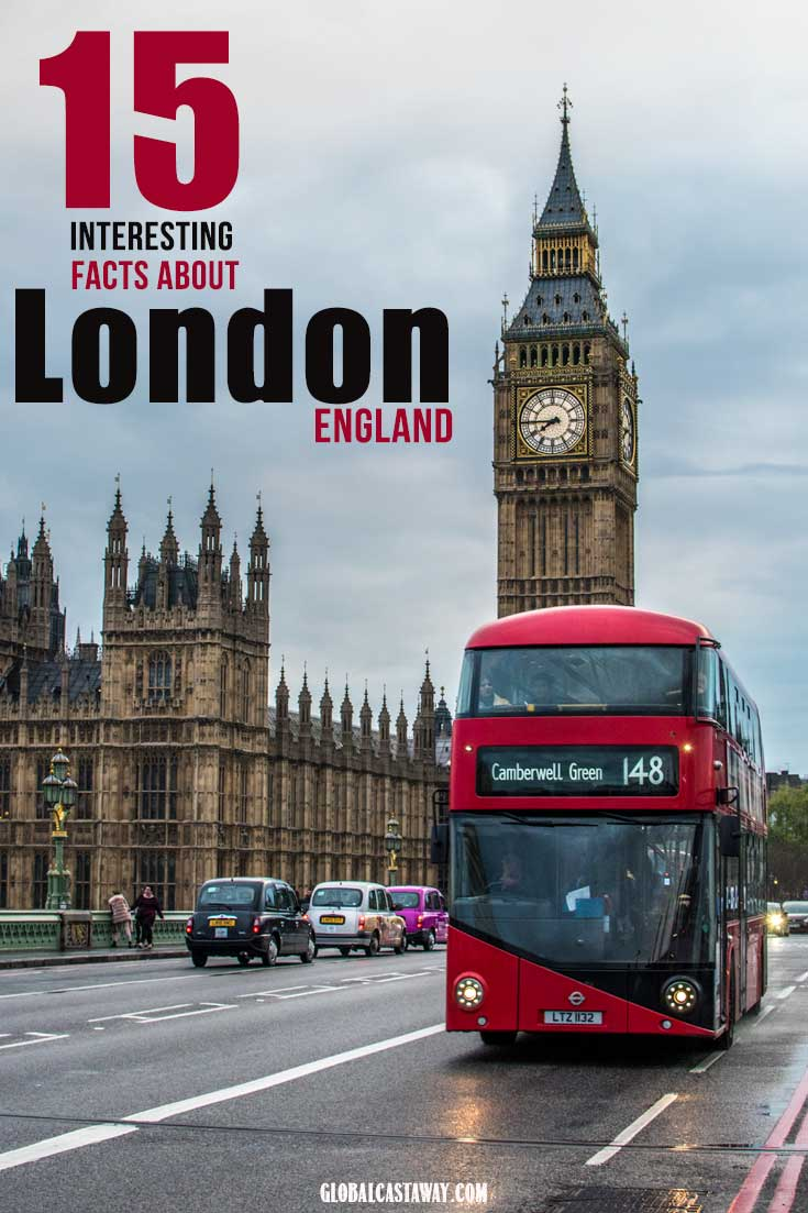 Check out these amazing facts about London | London travel | London tourist | London facts | London bus | Big Ben | #London #travelLondon