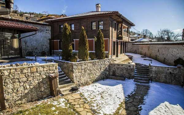 where is koprivshtitsa - red house