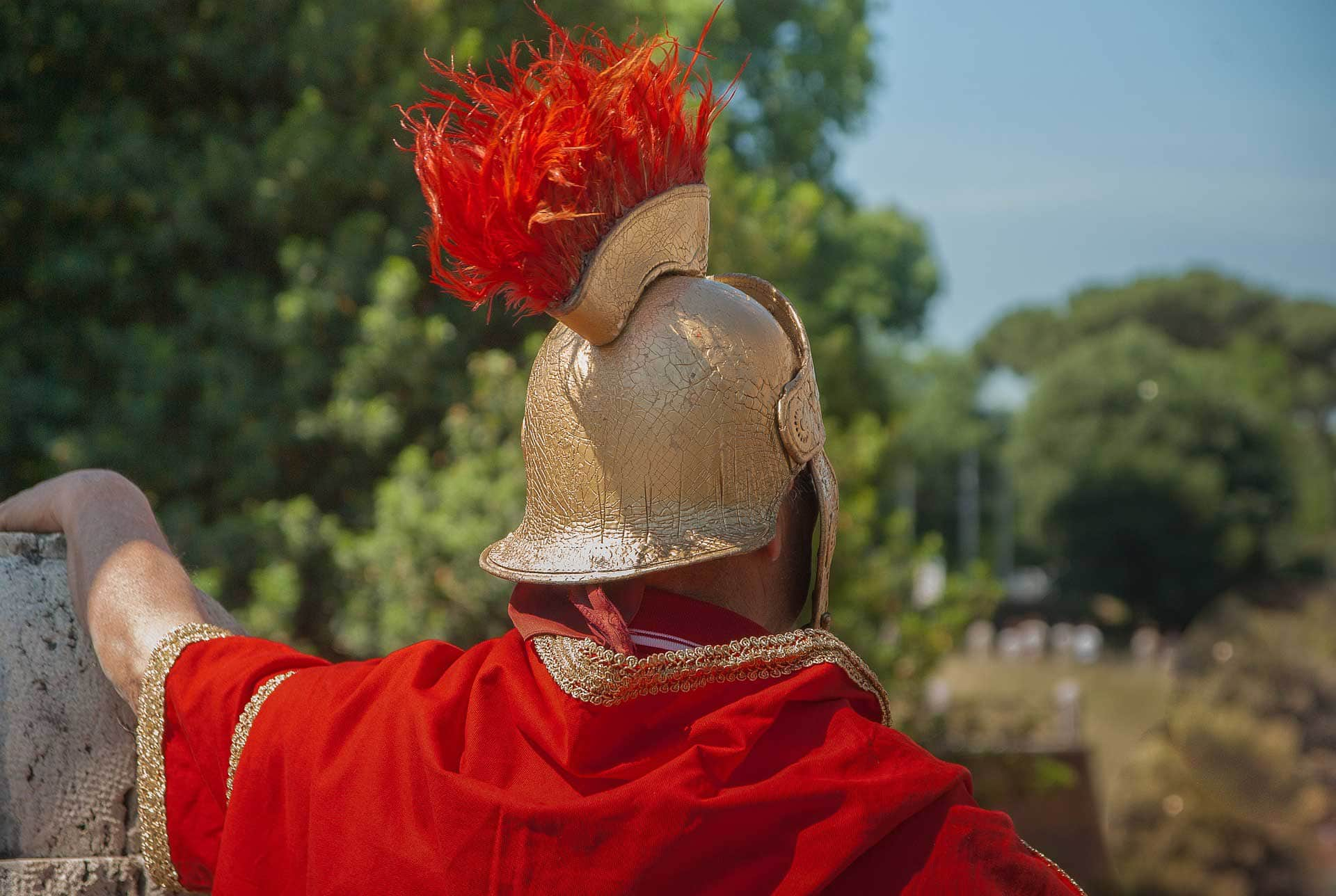 photo of a roman legionnaire - they build london you know